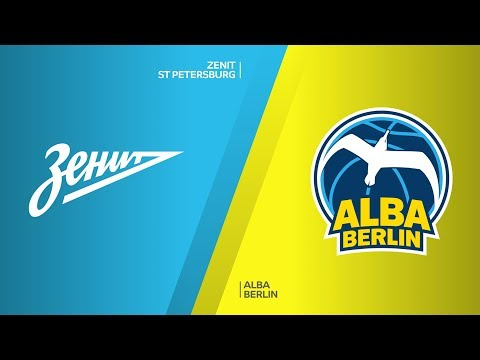 Zenit St Petersburg - ALBA Berlin Highlights | Turkish Airlines EuroLeague, RS Round 25