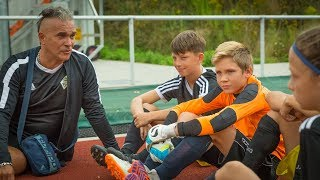 CZ5-NFV-Nachwuchs-Cup 2019-Nadia z FC Yellow w Niemieckim Görlitz-V mecz Soccer for Kids Dresden