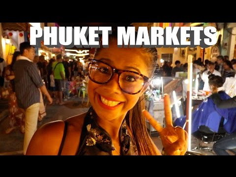 PHUKET OLD TOWN NIGHT MARKETS - A MUST SEE IN THAILAND