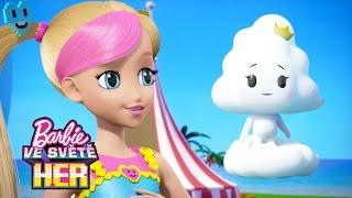 Všechno je někdy poprvé! | Barbie Hrdinka Videohry | Barbie