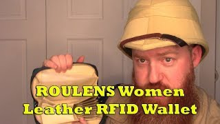 ROULENS Women Leather RFID Wallet Product Review