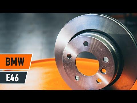 Hvordan Skifte Bakre Bremseskiver P 229 Bmw 3 E46 Autodoc