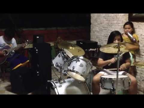 Let it go trisha louise style with luis antonio on guitar and sheilah zarah penaranda on drums