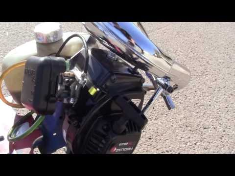 Goped A.K.A Spiderped Engine Startup G290RC [HD]