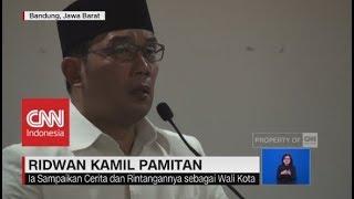 Download Video Suasana Haru Saat Ridwan Kamil Pamitan Terakhir Sebagai Walikota Bandung MP3 3GP MP4