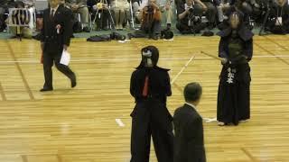 17th All Japan 8-dan Kendo Championships - Final - Eiga Naoki vs. Matsumoto Masashi