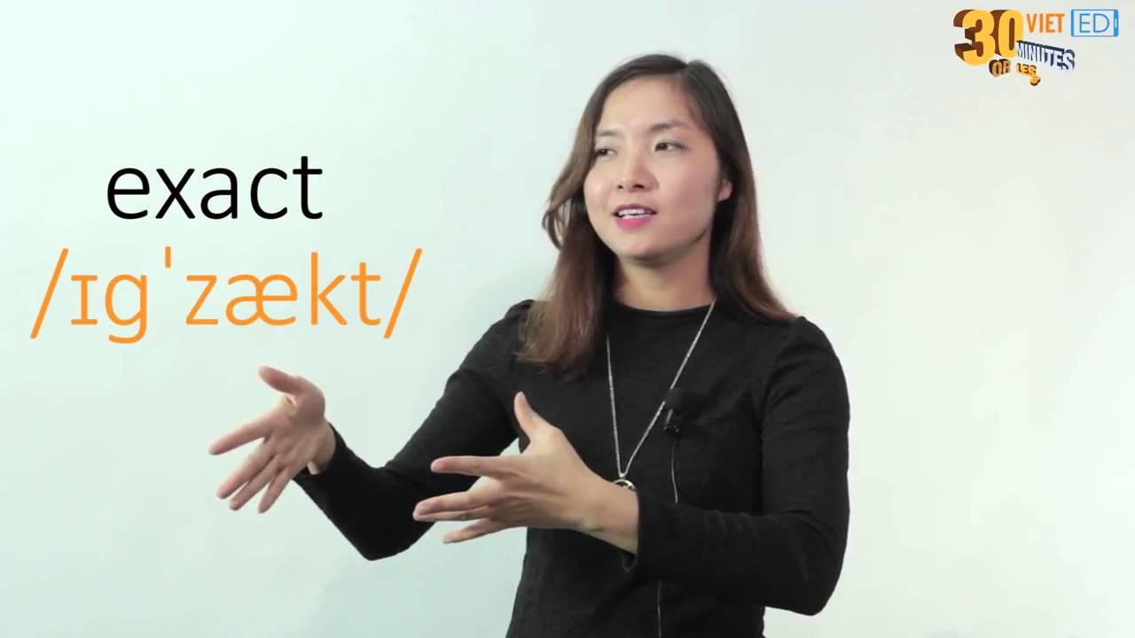 """[Pronunciation] Cách phát âm nhóm chữ """"ex"""" trong tiếng Anh"""