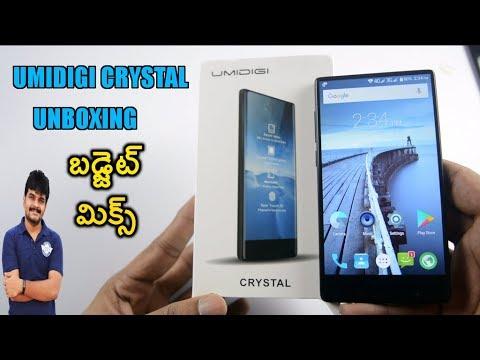 Umidigi Crystal Mobile Unboxing & initial impressions ll in telugu ll