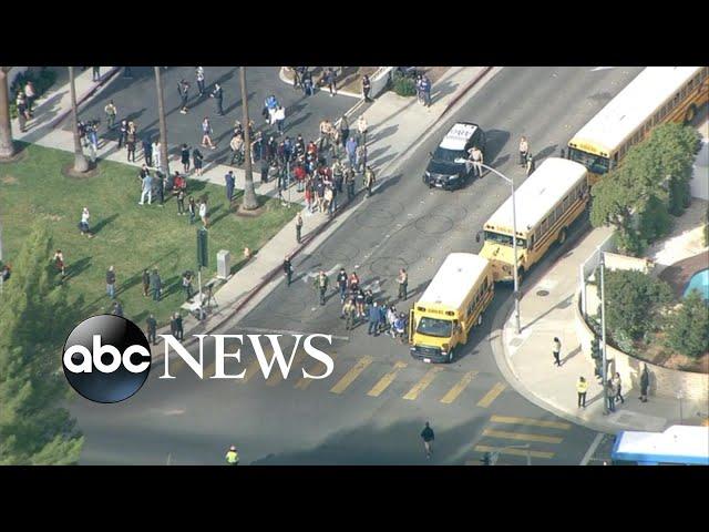 At least 6 hurt in shooting at California high school, suspect in custody