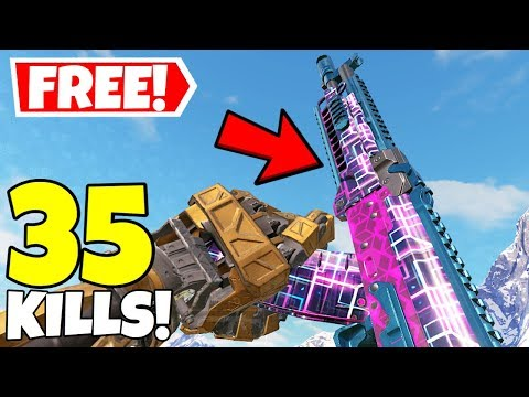 *NEW* FREE AK117 CUBIC ILLUSION SKIN GAMEPLAY IN CALL OF DUTY MOBILE BATTLE ROYALE!
