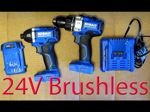 Review: Kobalt 24V Brushless 1/4 Impact driver & compact drill kit
