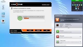 Configurando roteador Link One com CD
