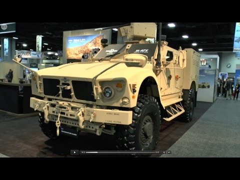 AUSA 2014 IHS Jane's speaks to Oshkosh Defence about their new M-ATV extended wheel base Interventio