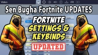 Sen Bugha Fortnite Settings, Keybinds, Sensitivity, Gear and Setup