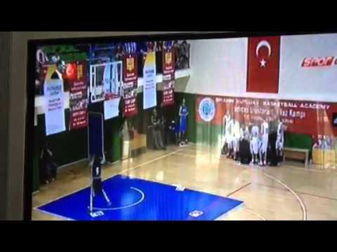 Junior league allstar sut şampiyonu Cagatay Tuğcu