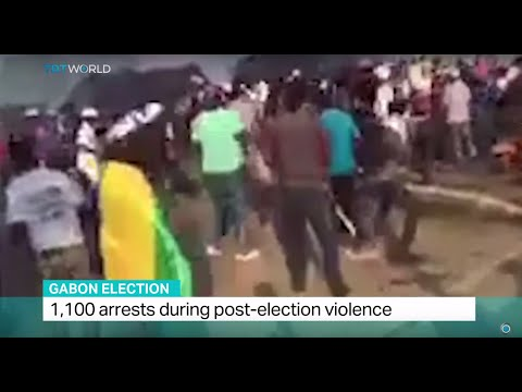 Gabon Election: 1,100 arrests during post-election violence