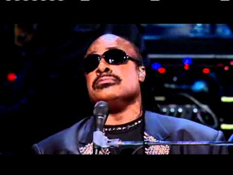 """Stevie Wonder and John Legend perform """"The Way You Make Me Feel"""" at the 25th Anniversary Concert"""