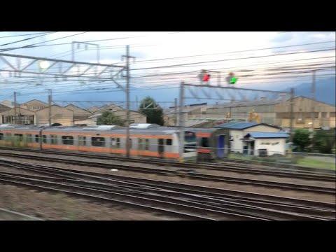 E233系H54編成のNN入場とマト118編成の武蔵野線転属が確定した2020年8月27日の長野総合車両センター