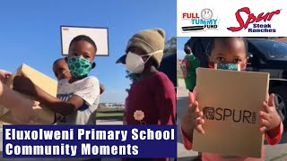 Soup distribution at Eluxolweni Primary School | Spur Community Moments