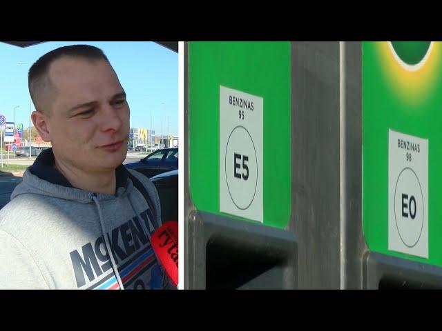 """Vairuotojai apie nauj? kuro ženklinim?: """"K? tie skai?iai reiškia?"""""""