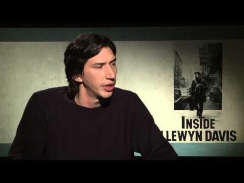 Inside Llewyn Davis: Adam Driver Official Movie Interview