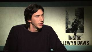 Inside Llewyn Davis: Adam Driver Official Movie Interview