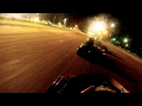 Crossroads Motorplex Super 8 Money Series Clay Go Kart Racing JR Stock Points Race 7/5/14
