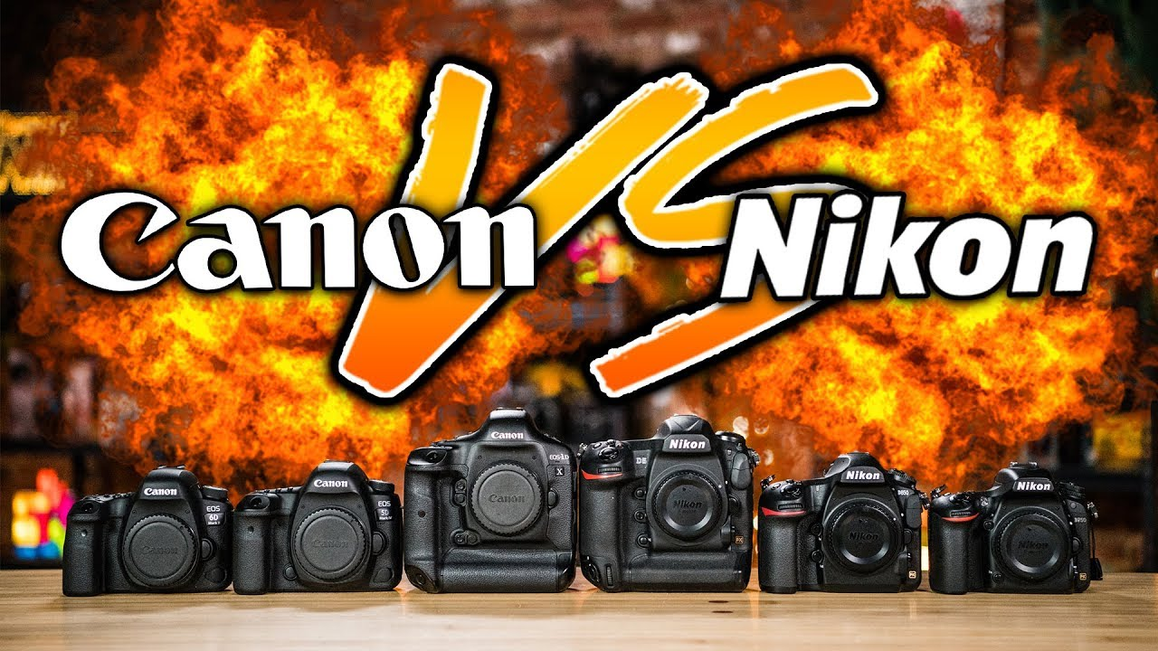 canon vs nikon whats all the hype