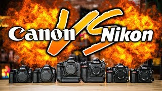 Canon VS Nikon Which To Buy: The ULTIMATE Battle