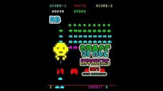 1979 [60fps] Space Invaders Part II 11630pts