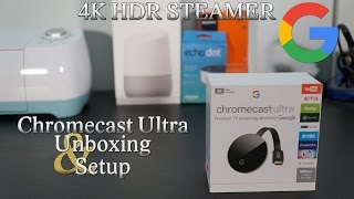 Chomecast Ultra 4K HDR unboxin…