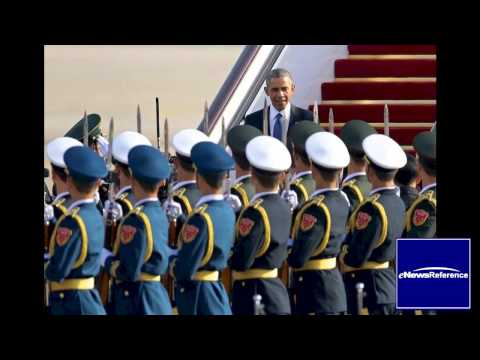 Obama is in Beijing for Asia-Pacific Economic Cooperation (APEC) meetings