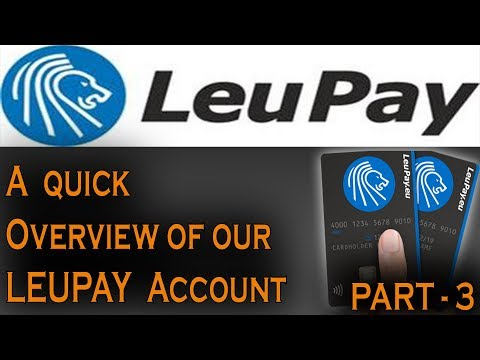 A Quick Overview Of Leupay - What We Can Do With Our Account ??? (PART-3)