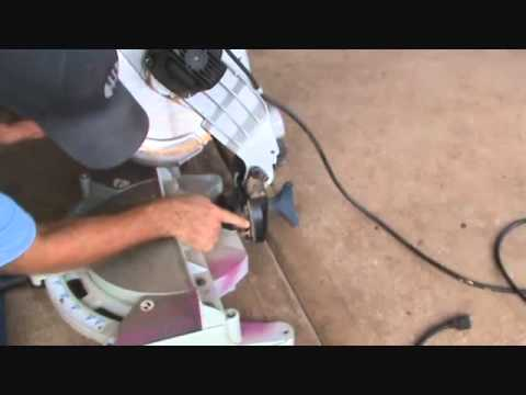 hqdefault how to use a compound mitre saw introduction youtube Delta 12 Miter Saw at edmiracle.co