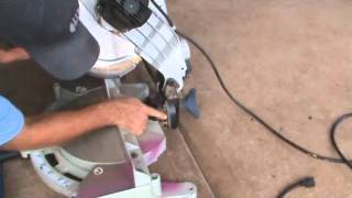 How To Use A Compound Mitre Saw: Introduction