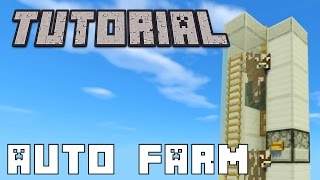 Simple Automatic Animal Farm: Minecraft Tutorial (1.8+)