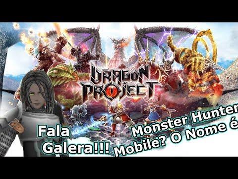 Dragon Project: Estilo Monster Hunter No Seu Mobile! Me Criei e Curti - Omega Play