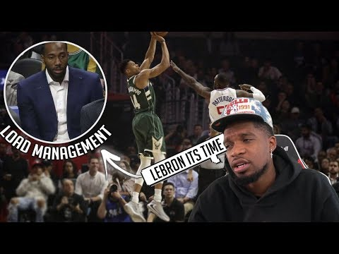 YEAA ITS TIME LEBRON! Milwaukee Bucks vs Los Angeles Clippers - Full Game Highlights