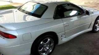 1996 mitsubishi 3000gt spyder vr4 remote hardtop convertible