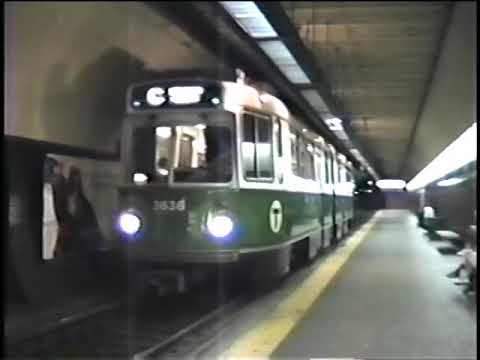 Boston MBTA 1989