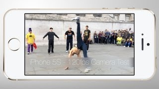 iPhone 5S Slow mo Camera Breakdance Test (120FPS)
