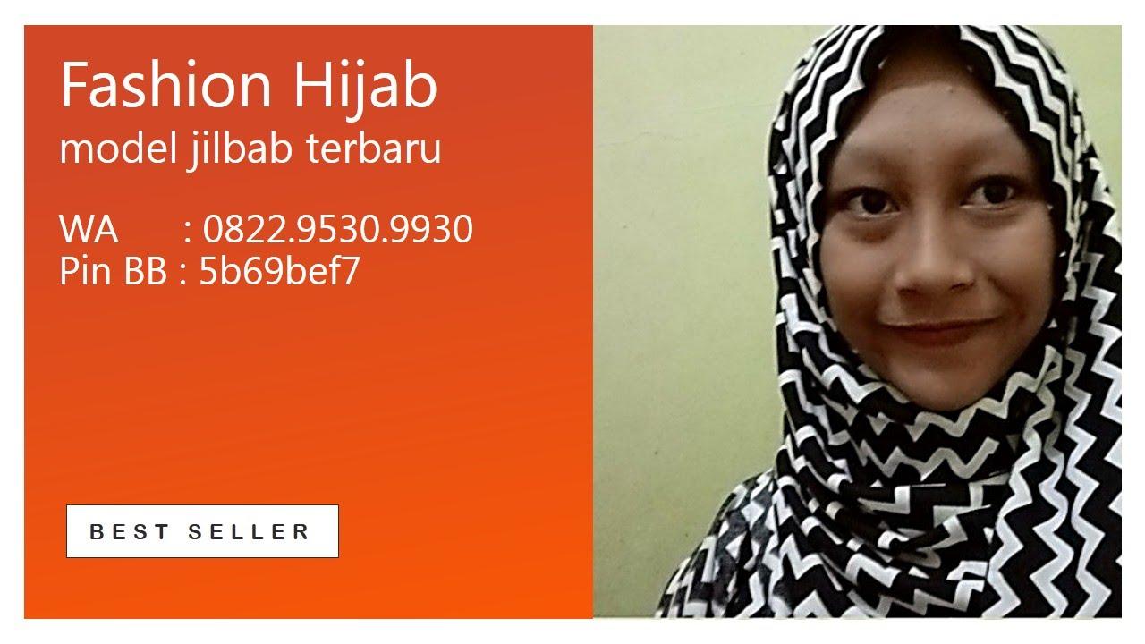 20 Detik Cara Memakai Hijab Pashmina Model Jilbab Terbaru PinBB