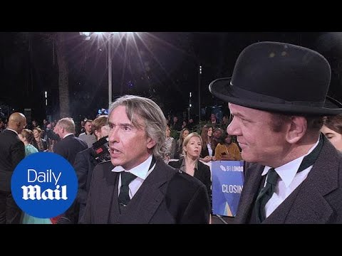 Steve Coogan and John C Reilly attend Stan and Ollie premiere