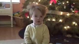 Child development study:  16 months (video 2)