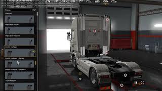 Высокие вертикальные выхлопные трубы для грузовиков v5 5 ETS2 1 31 хх