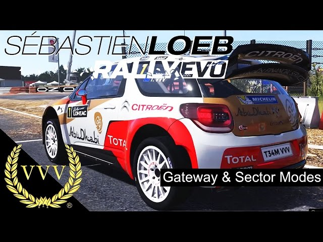 Sebastien Loeb Rally EVO Gateway & Sector Modes