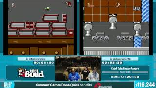 Chip N Dale: Rescue Rangers by Various Runners in 14:52 - Summer Games Done Quick 2015 - Part 20