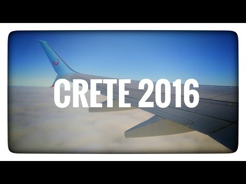 Flight to Crete, Greece & Travelling to Hotel | Crete 2016