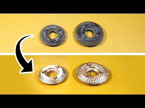 How to Clean Gas Stove Burner | Kitchen Cleaning routine Tips