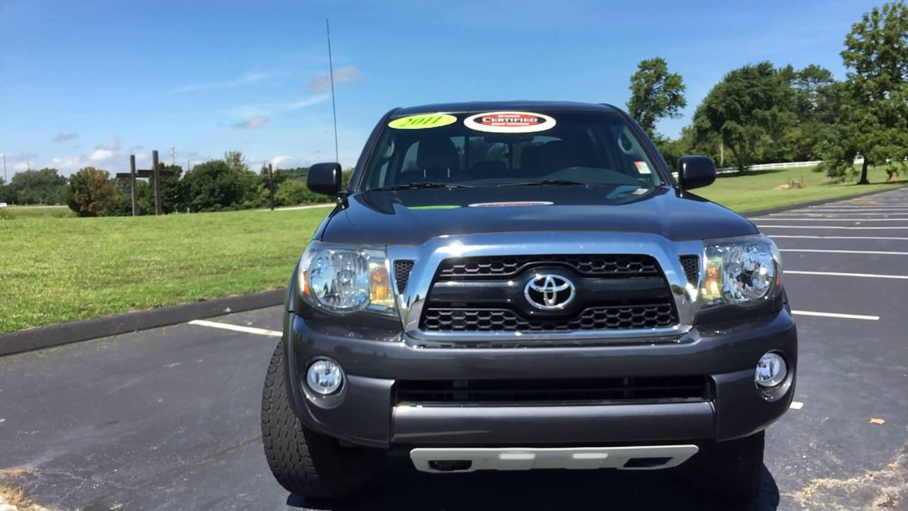 2011 Toyota Tacoma TX Pro (TA36253A) (Certified)